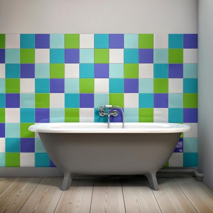 Azulejos de colores para el bano38 - Azulejos de colores ...