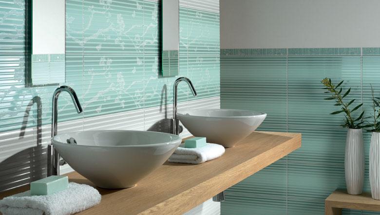 Azulejos Baño De Colores:Azulejos de colores para el cuarto de baño