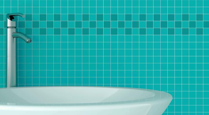 Baños Azulejos De Colores:Azulejos de colores para el cuarto de baño