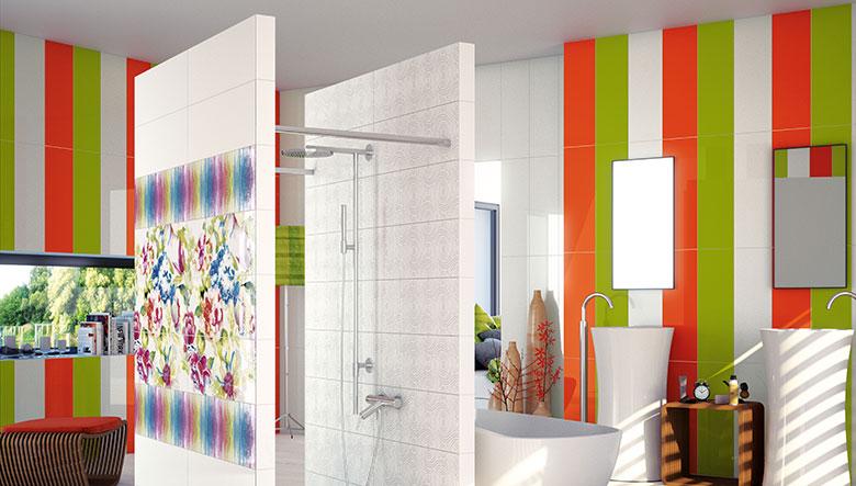 Azulejos baño de colores ~ dikidu.com