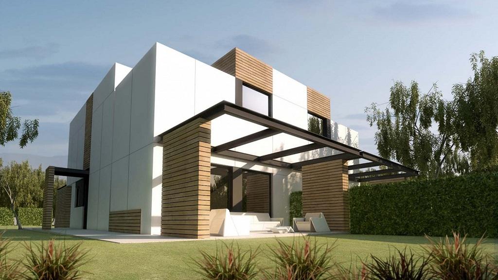 Casas prefabricadas de a cero dossier 2014 Casas prefabricadas de diseno joaquin torres