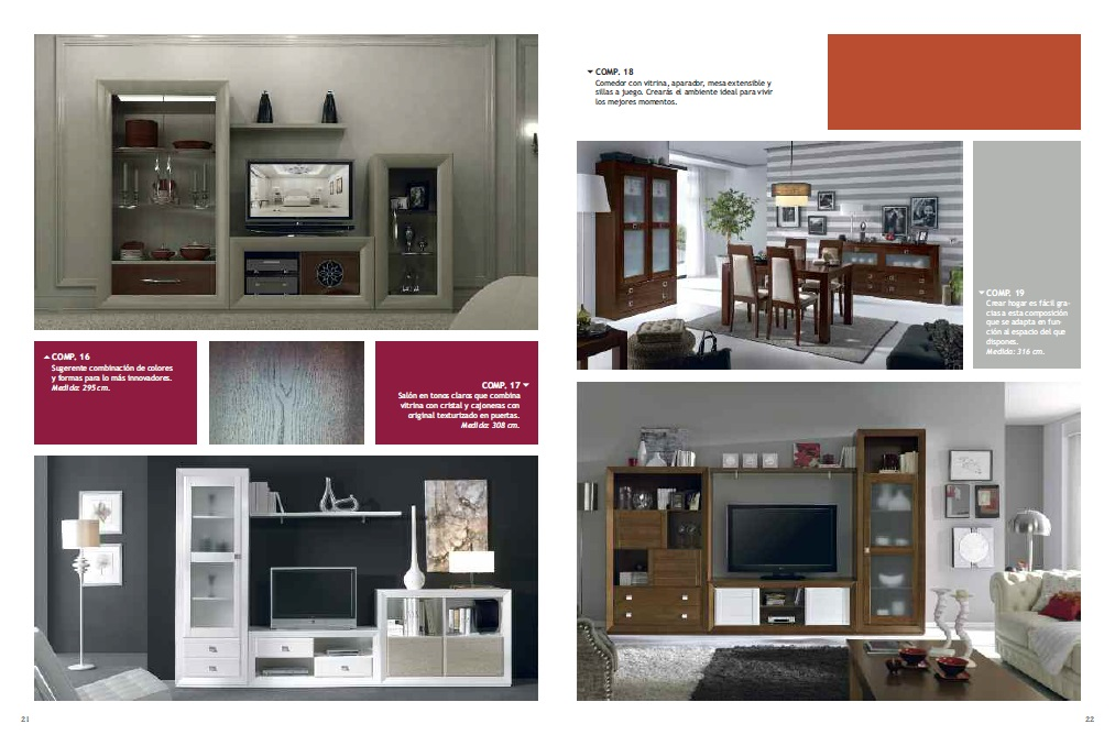 Catalogo muebles intermobil 2014 20158 for Muebles lucena catalogo