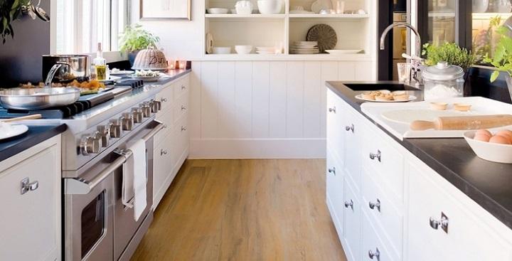 Fotografias de cocinas de color blanco2