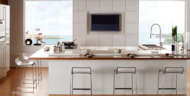 Fotografias de cocinas de color blanco3