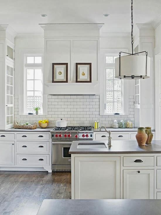 Fotos de cocinas de color blanco for Cocinas blancas pequenas