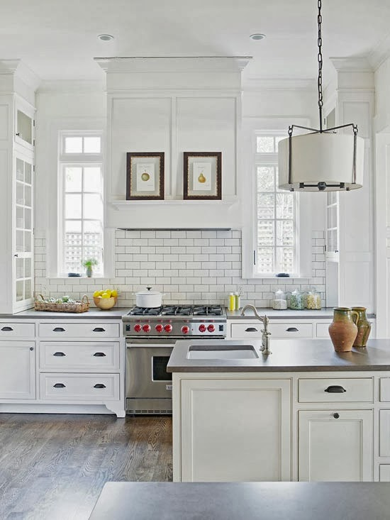 Fotos de cocinas de color blanco for Cocinas pequenas blancas modernas