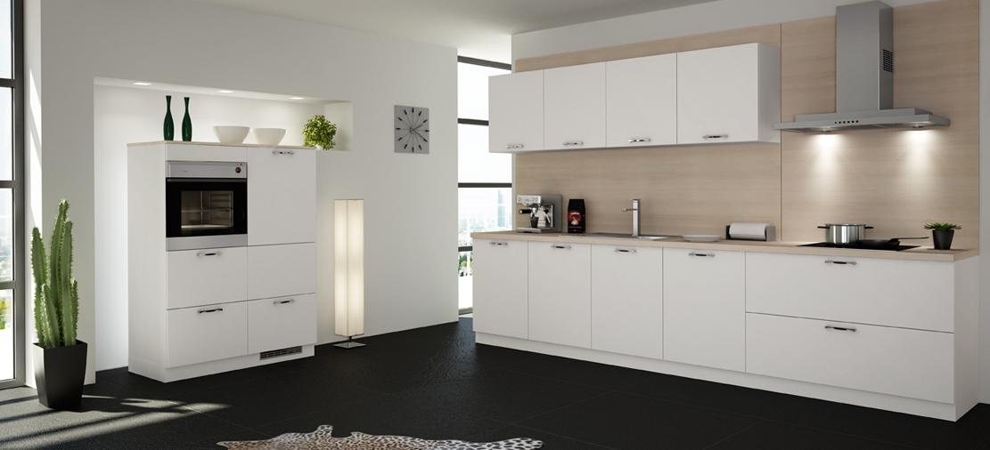 Fotos de cocinas de color blanco30 - Cocinas de color blanco ...