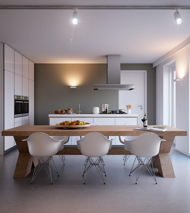 Fotos de cocinas de color blanco34 - Cocinas de color blanco ...