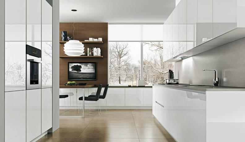 Fotos de cocinas de color blanco46 - Cocinas de color blanco ...
