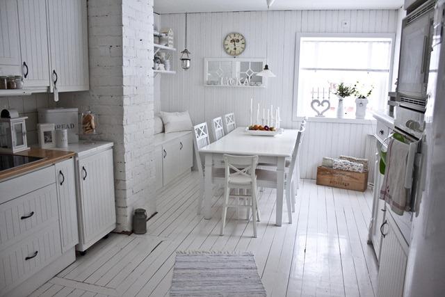Fotos de cocinas de color blanco49 - Cocinas de color blanco ...