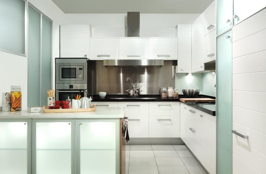 Fotos de cocinas de color blanco53 - Cocinas de color blanco ...