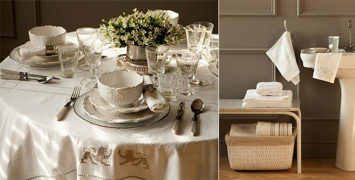 Colecci n hotel de zara home para el oto o invierno 2014 2015 for Zara home manteles mesa