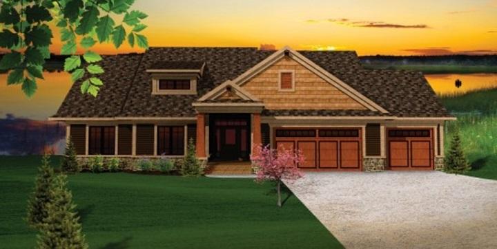 Planos de casas de madera1