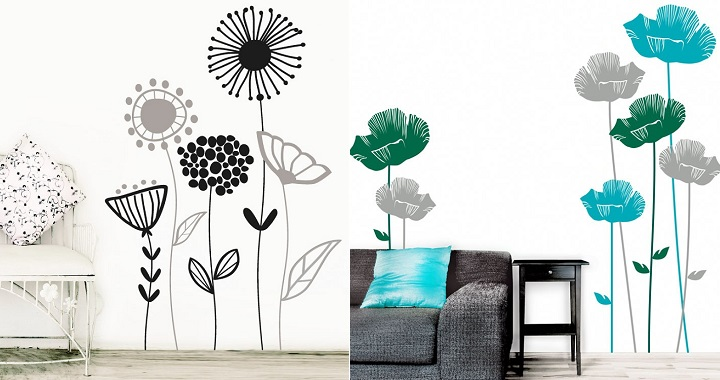 Vinilos florales2