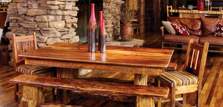 Claves de la decoraci n r stica for Muebles para bodegas rusticas