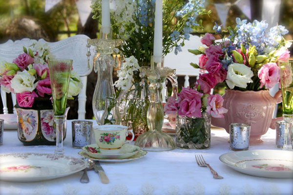 Decoracion bodas vintage27 for Boda vintage
