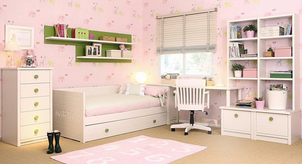 Fotos de dormitorios infantiles for Modelos de habitaciones infantiles