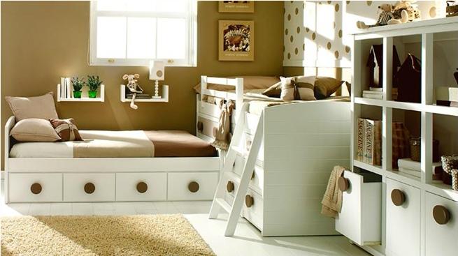 Fotos de dormitorios infantiles - Dormitorio beige ...