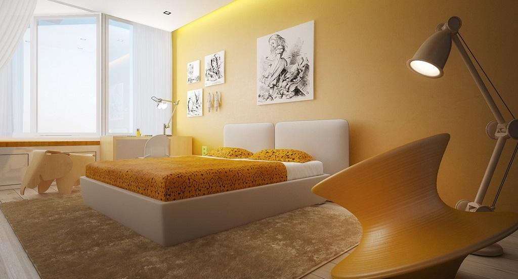 habitacion amarilla