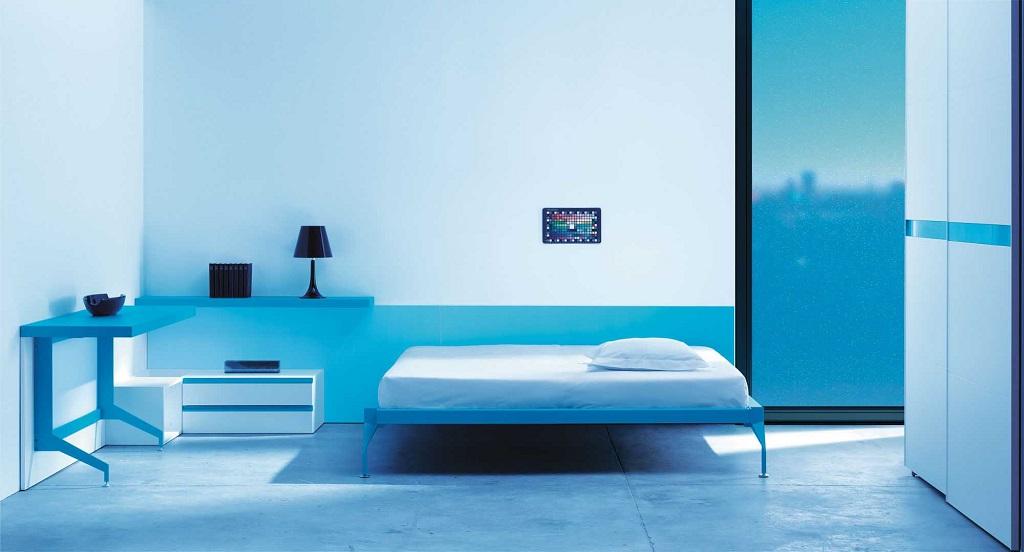 Colores recomendados para cada habitaci n for Cuartos pintados de azul