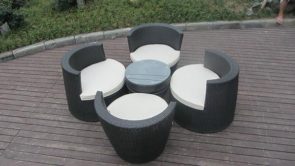 juego de sillas y mesa 2