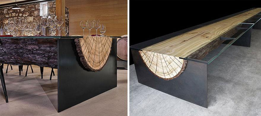 Originales mesas de dise o - Mesas comedor originales ...