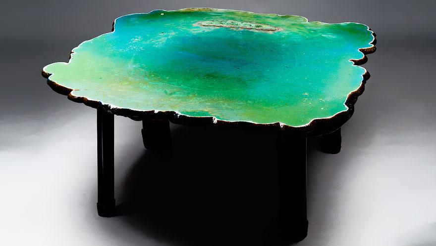 Originales mesas de diseño