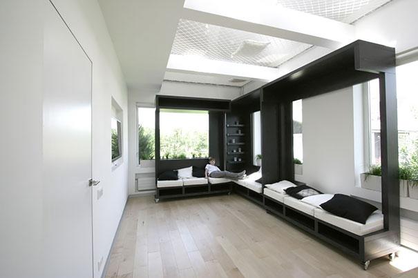25 soluciones para ganar espacio en casa for Mobiliario para estudiantes