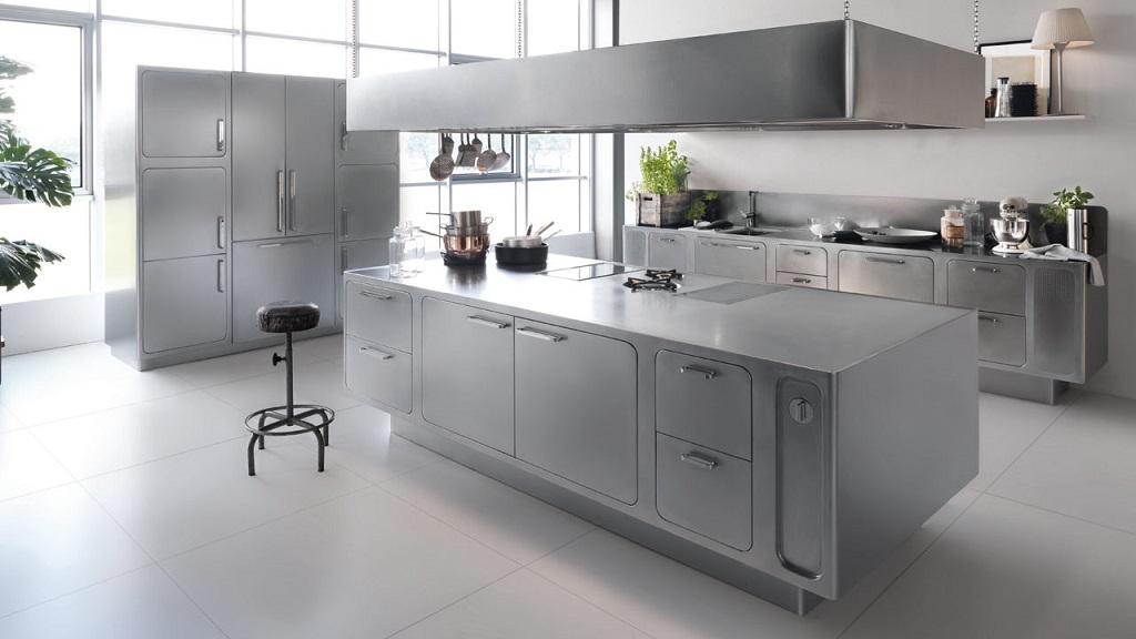 Materiales para los muebles de la cocina - Cocina de acero inoxidable precio ...