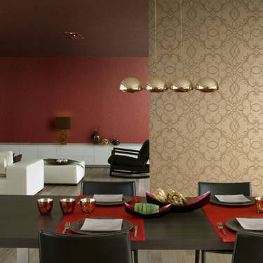 Paredes decoradas con papel tapiz - Paredes decoradas modernas ...