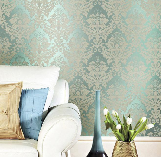 Paredes decoradas con papel tapiz30 - Paredes decoradas con papel ...