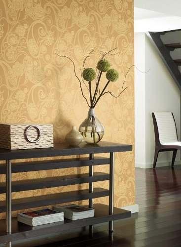 Paredes decoradas con papel tapiz44 - Paredes decoradas con papel ...
