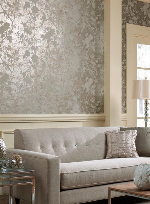Paredes decoradas con papel tapiz - Paredes decoradas con papel ...