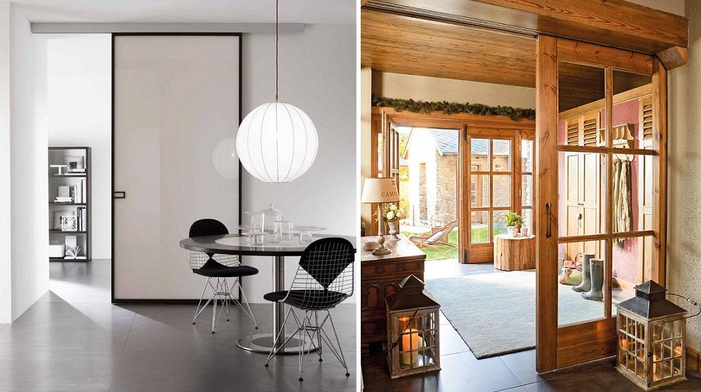 Ideas para hacer tu casa m s grande - Puertas correderas para habitaciones ...