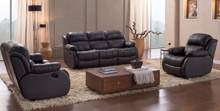 Sof s de piel baratos for Ofertas de sofas en piel