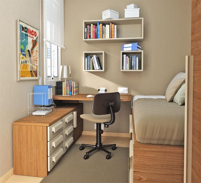 Zona de estudio y de trabajo en casa1 for Zona de estudio
