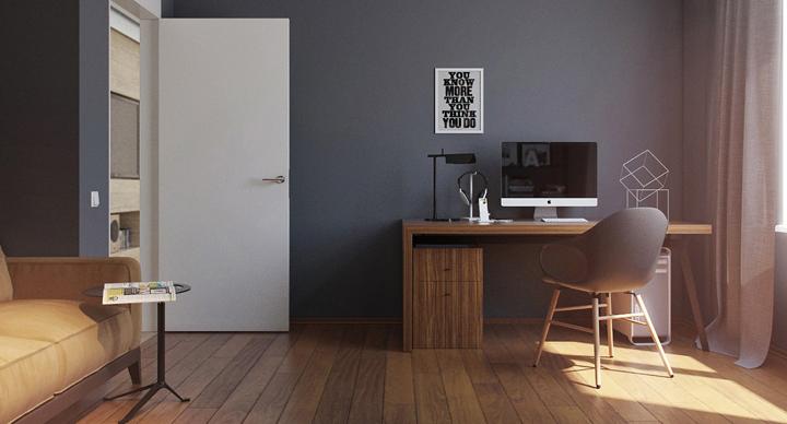 Zona de estudio y de trabajo en casa for Estudios minimalistas decoracion