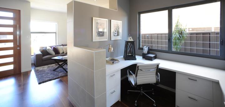 Zona de estudio y de trabajo en casa