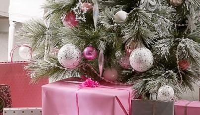 Arbol de Navidad Masions du Monde Glaciar Rosa