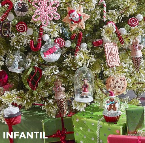 Colecciones maisons du monde para decorar el rbol de navidad - Arbol tipico de navidad ...