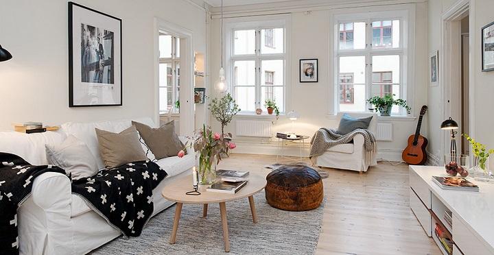 Claves de la decoraci n n rdica - Casas decoradas con muebles de ikea ...