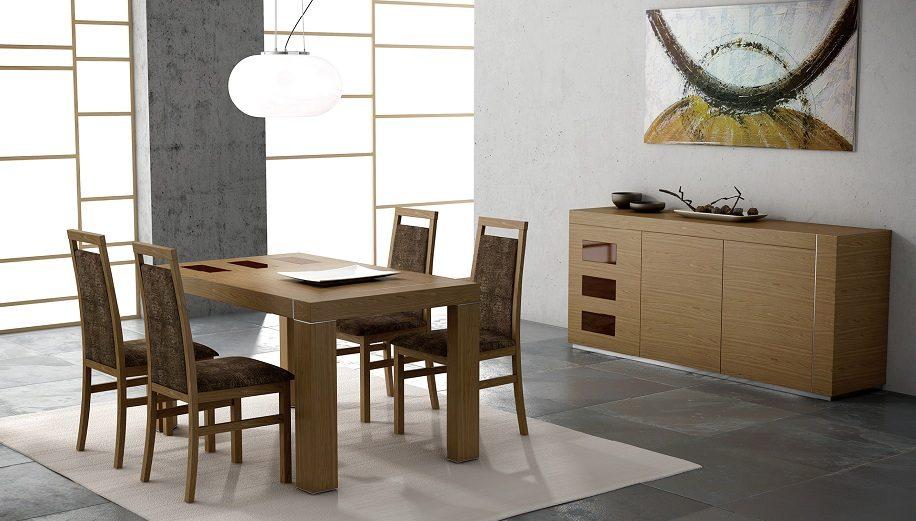 Casas cocinas mueble comedores madera modernos for Comedores modernos