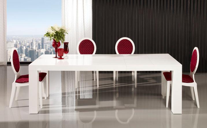 Comedores modernos49 for Comedores minimalistas de madera