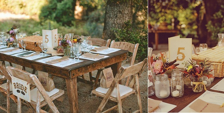 Decoraci n de bodas rurales for Decoracion rustica campestre