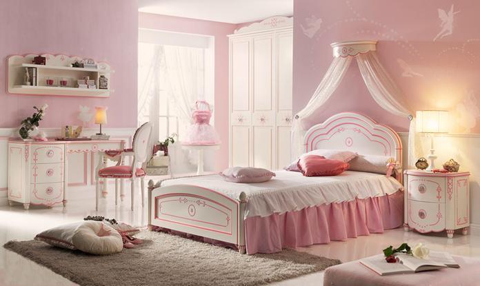 Dormitorios romanticos8 - Habitaciones infantiles romanticas ...