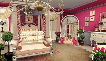 Dormitorios romanticos9