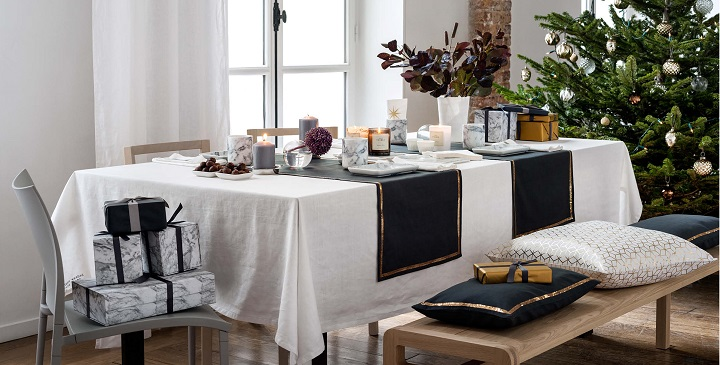 colecci n de navidad de h m home 2014. Black Bedroom Furniture Sets. Home Design Ideas