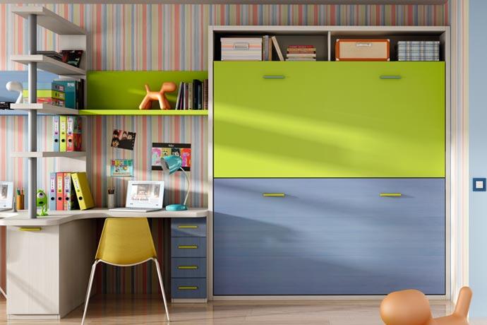 Litera sofas camas cruces2 - Habitaciones juveniles camas abatibles horizontales ...
