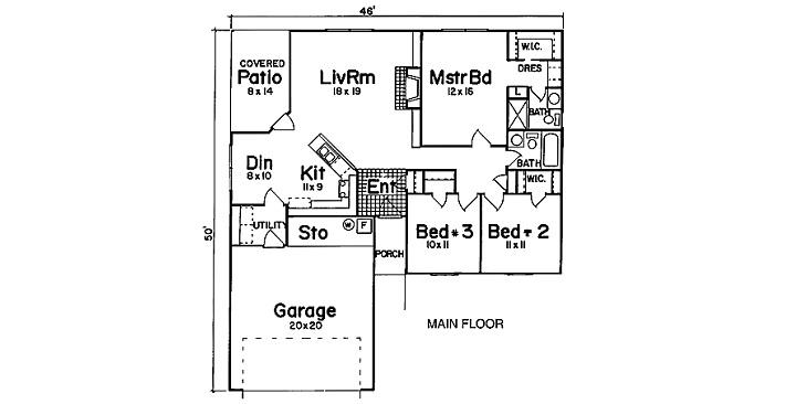 Planos de casas de campo0