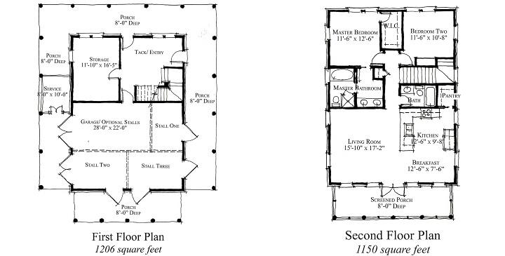 Planos de casas de campo4